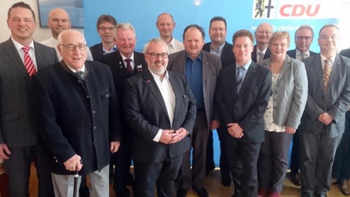 Mitgliederehrung der CDU Wesseling