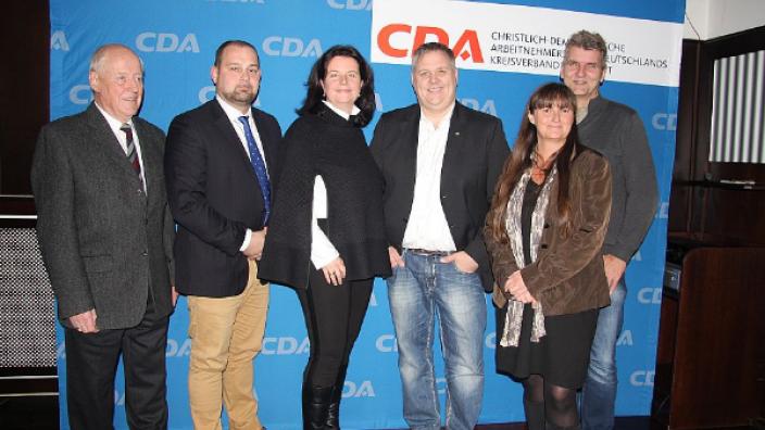 Neuer Vorstand der CDA Wesseling