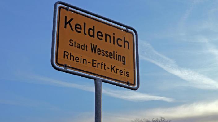 Ortsschild Keldenich