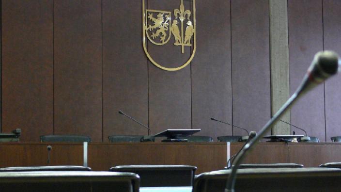 Der Ratssaal der Stadt Wesseling.
