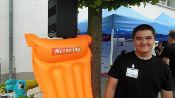 """Der Peter von der JU hat die Luftmatratze im CD der CDU """"gepimpt"""""""